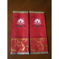 China Customized Small Coffee Packaging Bag Plastic Red Non-Toxic on sale