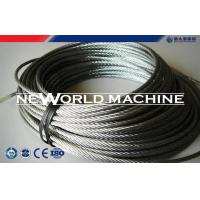 China Hoist Parts Stainless Dteel Eire Rope 316 Model / Galvanized Steel Wire Rope wholesale
