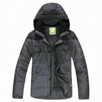 China Men's plus size fashionable luxury duck down jacket/2012 to 2013 design name brand winter coat on sale