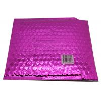 China Waterproof Pink Metallic Bubble Mailers Large Volume Puncture Resistant wholesale