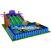 China Summer Season Metal Frame Pools For Outdoor Activity / Swimming / Water Fun wholesale