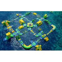 China Giant Size Summer Popular Inflatable Floating Water Park Games For Adults wholesale
