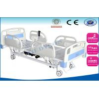 China 3 motors remote control Electric ICU Bed With abs side rails wholesale