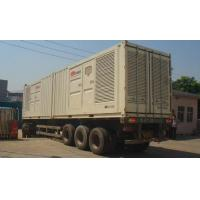 China Professional Silence Soundproof Genset Power Plant , Man Containerised Generator Set wholesale