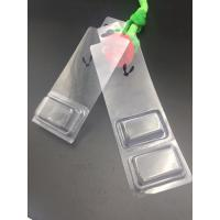 China Decorative plastic blister packaging PVC material with hanger on sale