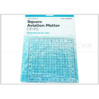 Kearing Aviation Supplies Plastic Square Aviation Plotter Customized logo