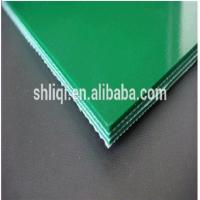 China PVC solid woven conveyor belt on sale