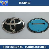 China Toyota Car Brands Logo Names Badge With ABS Plastic Grill Emblem wholesale