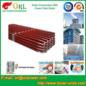 China Power Plant CFB Boiler Economizer Silver Boiler Spare Part For Petroleum Industry wholesale