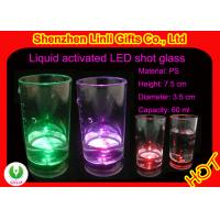 China Personalized Barware Gifts- plastic light up green, purple, red led flashing glass FB12015 on sale