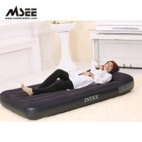 China White / Black Color Elevated Inflatable Bed High Comfort 50 * 40 * 28CM Packing wholesale