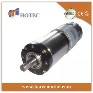 China 42mm diameter planetary gear reducer 12 volt dc gear motor wholesale