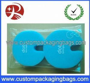Self-Adhesive Sealing Tape Custom Packaging Bags , Clear Plastic OPP Packaging Bag