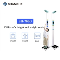 China Kids Scale 235CM Sitting Height Weighing Machine With Printer wholesale