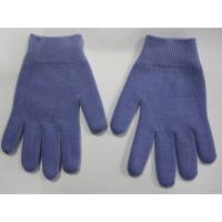 China Youth Gel Moisturizing Gloves Spa Gel Filled Blue Cotton Gloves For Moisturizing Hands wholesale