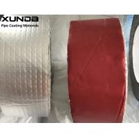 China Mesh Aluminium Foil Butyl Rubber Tape Waterproof For Low Temperature Area on sale