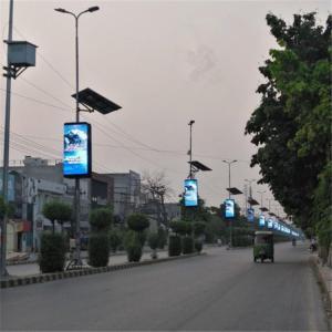 China Waterproof Dustproof 5mm Commercial Advertising LED Display Screen 9500K - 11500K wholesale
