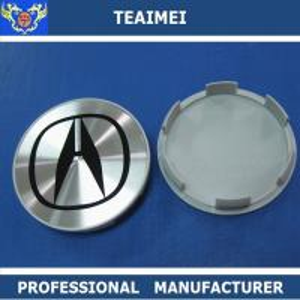 China 4 PC Chrome Car Logo 68mm Wheel Center Caps For Hoda Wheel Cap wholesale