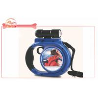 China Removable Flashlight Retractable Dog Leash with LED light and Tissue Box wholesale