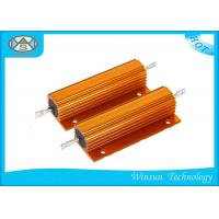 China High Voltage Wire Wound Power Resistor Winding Gold 200W 0.01 Ohm Resistor on sale