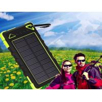 China New 8000mAh waterproof solar charger with factory competitive price wholesale