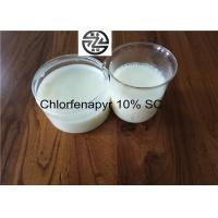 China Reliable Chemical Insecticides 10% SC Chlorfenapyr 100 - 101°C Melting Point wholesale