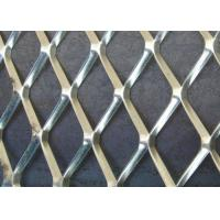 China 10MM*20MM*1.3MM Expanded Metal Sheet Security Hot Dipped Galvanized wholesale