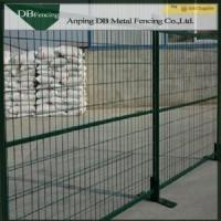 China Powder Coated Steel Temporary Construction Fence 6