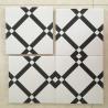 China 20*20cm Decorative Ceramic glazed Tile 8.5mm Intdoor For Walls / Floor wholesale