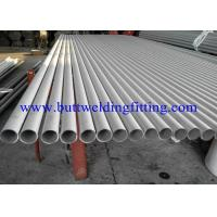 China Round Thin Wall Stainless Steel Welded Pipe DIN ,PA, AND PE, SCH5S, 10S, 20, 40S wholesale