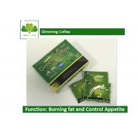 China Body Beauty Slimming Coffee Diet , Fat Burner Green Coffee For Weight Loss wholesale