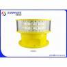 China Luz de obstrução da aviação do diodo emissor de luz de AC220V para a maquinaria em grande escala do porto wholesale