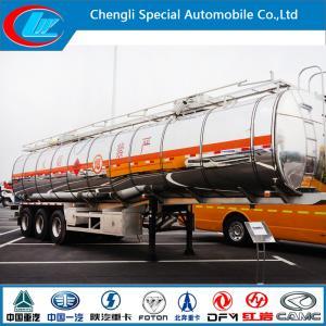 China 42cbm Aluminum Oil Tanker Semitrailer wholesale