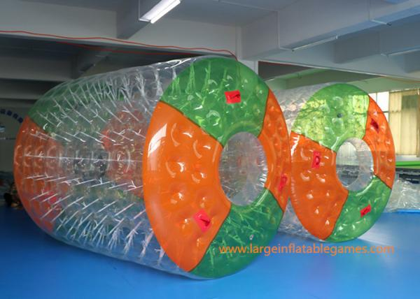 Quality Adults / Childs Inflatable Water Roller  2.7 * 2.4 * 1.8m Human Zorb Ball for sale