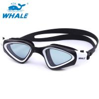 China Crystal Clear Fog Free Swimming Goggles PC Lens Silicone Eye Seals For Mens wholesale