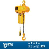 China Yuantai 2t monorail traveling electric chain hoist for sell wholesale
