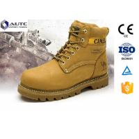 China Non Conductive PPE Safety Shoes , Lightweight Steel Toe Shoes Military Anti Static wholesale