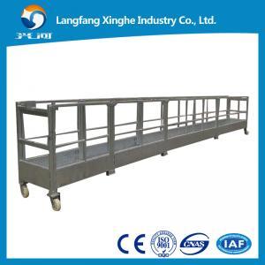 China Aluminum  Suspended Platform/Window Cleaning platform /High Building Painting cradle wholesale