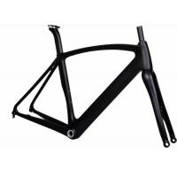 China Aero 12MM Thru Axel Carbon Road Bike Frame T700 700C With UD / 3K Weave wholesale