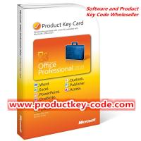 Buy cheap Microsoft Office 2010 Product Key Card, Discount Microsoft Office Professional from wholesalers