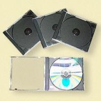 China Standard CD Jewel Cases, Available in Black on sale