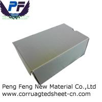 China 2-12 mm Best Prices white/black/green/blue color polypropylene Corrugated Plastic Shoe Box for packing industry on sale