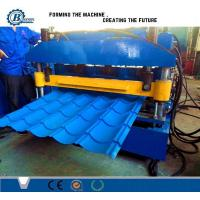 Buy cheap PLC Control Tile Roll Forming Machine from wholesalers
