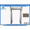 China Alta cámara CCTV sensible de la ayuda del marco de puerta del detector de metales de la arcada multi de la zona wholesale