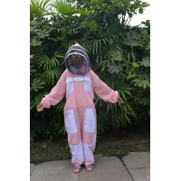 China Triple Layer Ventilated Beekeeping Clothing , Bee Proof Clothing With Veil Air Flow wholesale