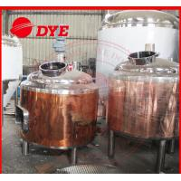 China 100L Copper Home Brew Kits , Professional Beer Brewing Equipment wholesale