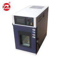 China Desktop Mini Temperature And Humidity Testing Machine Stainless Steel Type wholesale