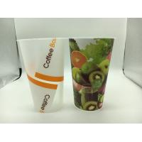 Buy cheap Advertising Logo custom printed plastic cups / plastic drinking cup FDA from wholesalers