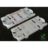 China 24 ABS de la bandeja del empalme de la fibra óptica de los corazones, cubierta transparente de la gestión fácil wholesale