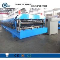 China High Speed Double Layer Roll Forming Machine , Roof Sheet Making Machine wholesale